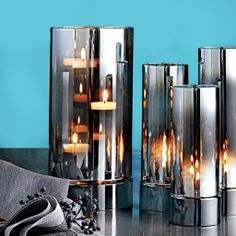 Add some enchanted reflections with our Reflective Cylinders and Reflective Silver Hurricane!  Order online at: hannahlloyd.partylite.co.uk/shop or message me on Facebook: Candle Parties with Hannah