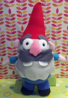 Gravity Falls Schmebulock Gnome Plush by SowCrazy on DeviantArt Fall Bedroom, Bedroom Ideas, Anime Diys, Gravity Falls Dipper, Dipper And Mabel, Disney Plush, Doll Toys, Gnomes, Chibi