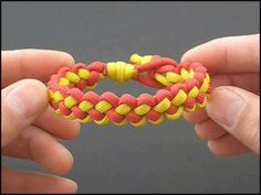 Enchanted by fusionknots.com website - his instructional videos are outstanding. Makes me want to make bracelets out of military cord.