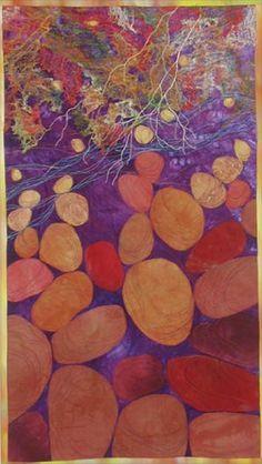 Bedrock Art Quilt