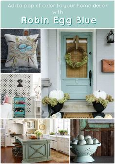 Decorating With Robin Egg Blue Add A Pop Of Color To Your Home Decor