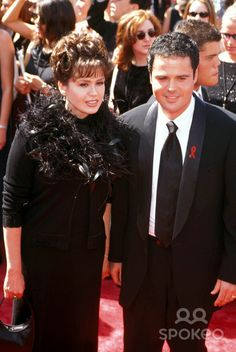 Marie Osmond and Donny Osmond K13239nr 50th Emmy Awards at Shrine Auditorium 09-13-1998 Photo by Ned Redway-Globe Photos
