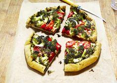 Italian Broccoli-Tomato Galette   Vegetarian Times
