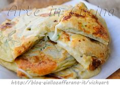 Pancake con melanzane e zucchine veloci