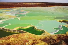 The Danakil Depression, Ethiopia Slow Boat To China, Rift Valley, Our World, Natural Wonders, Hot Springs, Volcano, Ethiopia, Geology, The Locals