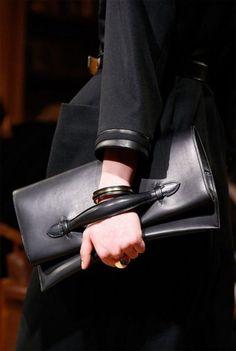 Hermes bags catalog fall winter 2014 2015: exclusive handbag leather black