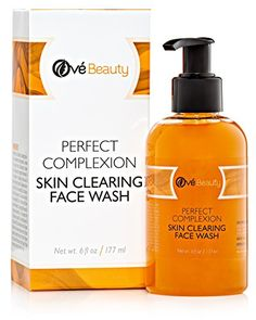 Acne Skin Clearing Face Wash for Sensitive  Oily Skin Naturally Cleans to Treat Blemishes Pimples and Blackheads Non Drying Non Oily *** Visit the image link more details.