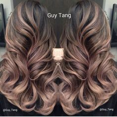 @Guytang super pretty hair color and highlights