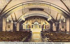 Center View of Crypt,National Shrine of The Immaculate Conception-Washington,D.C