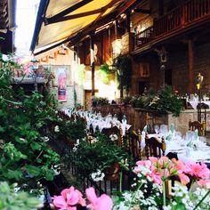 #Innenhof #Hochzeit im #LoewenThor