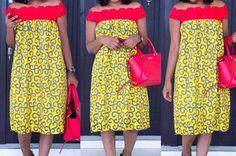 Ankara Dress, African Dress, Styles Ankara, Lisa, Robes Midi, African Fashion, Midi Skirt, High Waisted Skirt, Couture