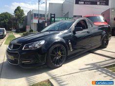 2013 Holden Ute VF SV6 Black Manual 6sp M Utility #holden #ute #forsale #australia
