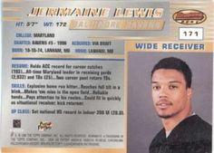 1996 Bowman's Best #171 Jermaine Lewis Back