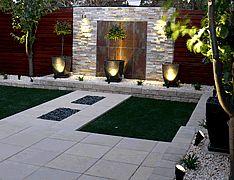 10+ Garden Feature Wall ideas | garden features, feature ...