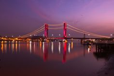 Twilight at AMPERA bridge