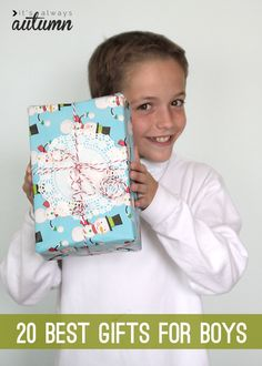 thinking about Christmas yet? get some great ideas with this list of 20 best gifts for boys (or girls!)