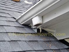 The new porch roof installation details are illustrated with the stucco apron/headwall flashing and counter flashing. A section of rotted soffit and fascia board are also replaced. Fascia Board, Roof Flashing, Porch Roof, Roof Installation