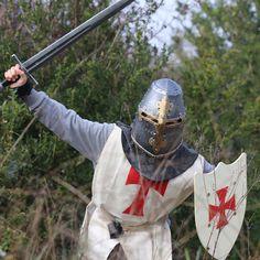 PACK WHITE. Disfraz niño, caballero Templario