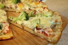 Pizza, Cheddar, Quiche, Broccoli, Mashed Potatoes, Cauliflower, Food And Drink, Cooking Recipes, Vegan