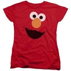 Sesame Street: Elmo Face Women's T-Shirt