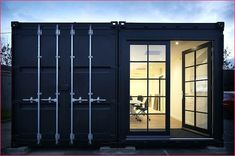 Shipping Container Office ideas – Shipping Container House Ideas – Executive Home Office Design