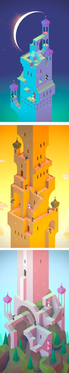 The big tower / #MonumentValley by #ustwo