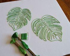 A hand embroidery pattern by needlework designer Kelly Fletcher #VintageEmbroideryPatterns #HandEmbroideryPatterns