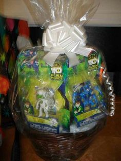 Ben 10 Birthday Gift Basket