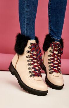 Высокие ботинки-хайкеры из натуральной кожи Lera Nena   2000001132623-0 d907d04185ab0