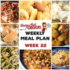 This week's weekly menu features Crock Pot Chicken and Dumplings, Crock Pot Party Beans, Crock Pot Scalloped Potatoes and Ham, Crock Pot Cabbage, Crock Pot Swiss Steak and Rice, Old Fashioned Crock Pot Green Beans, Crock Pot Garlic Pork Roast, Crock Pot Creamed Spinach, Crock Pot Cinnamon Apples, Crock Pot Pizza Tater Tot Casserole, Strawberry Breakfast Cake, Crock Pot Rocky Road...Read More »