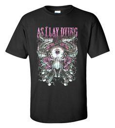 As I Lay Dying T-shirt M/L/XL/2XL/3XL Clothing Tshirt