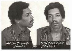 vintage everyday: 11 Worst Mugshots of Rock Stars in the Past