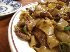 spicy beef chow fun @ hop kee by bionicgrrrl, via Flickr