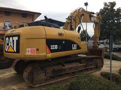Caterpillar 323D LN sold Italy