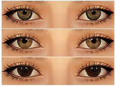 Best Sims, My Sims, Sims Cc, Kylie Jenner Eyes, Sims 3 Makeup, Sims 3 Cc Clothes, Sims 4 Cc Eyes, Sims 3 Cc Finds, Sims 4 Pets