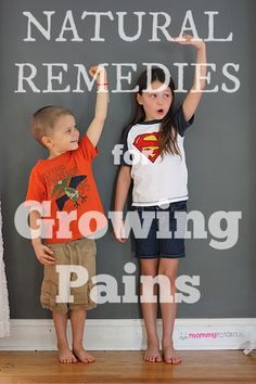 Are achy legs waking your child up at night? Studies suggest that these natural remedies maybe be helpful . . #naturalremedies #homeremedies #growingpains