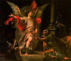 Juan Valdés Leal: La liberación de Pedro. Catedral de Sevilla.