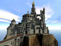 Fantasy castle by e-designer