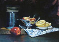 Grandma's Kitchen by master pastelist Trish Acres
