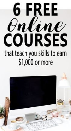 Do you want to make extra money online? Here are 6 FREE e-courses that will teach you some skills to start earning money online. Freelance Proofreading | Freelance Writing | Freelance Virtual Assistant | Selling on Amazon FBA via @lifeandabudget