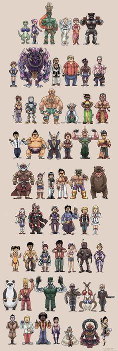 All Tekken characters