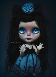 G.Baby OOAK Custom Blythe doll MIYU by bebebentley on Etsy