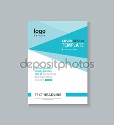 business cover design template and brochure annual report flyer