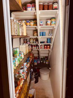 Kitchen Under Stairs, Closet Under Stairs, Under Stairs Cupboard, Under Stairs Pantry Ideas, Small Cupboard, Larder Cupboard, Small Pantry, Stair Storage, Storage Room