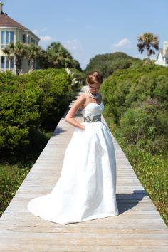 wedding gown with pockets!   Charlotte Elizabeth Photography #wedding