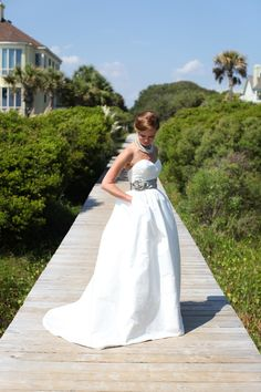 Charleston, SC Beach Wedding | Wild Dunes Wedding | Charlotte Elizabeth Photography http://southernweddings.com/2013/01/08/boone-hall-wedding-by-katherine-miller-events/ Love this picture!