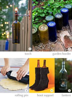 A VERIFIED LINK:  I absolutely love wine bottle ideas  ~ ~ ~  Got Wine? (part one) - Urban Toot