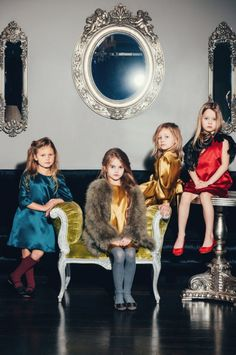 At the Hall or Mirrors, Athena, Seraphina, Chambray and Forsythia enjoyed a quiet afternoon wearing metallics and mink stoles while silently judging people.