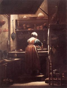 Scullery Maid – Guiseppe Crespi – 1710-1715