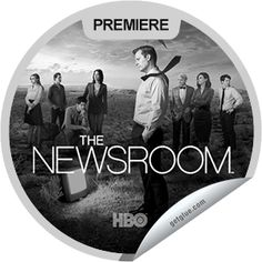 Steffie Doll's The Newsroom: The First Thing We Do, Let's Kill All the Lawyers Sticker | GetGlue